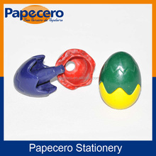 2016 New Lovely Egg-shaped Silky Kids Crayon Set