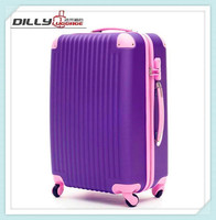 Spinner Wheels Three Piece Suitcase Printed Lightweight Luggage