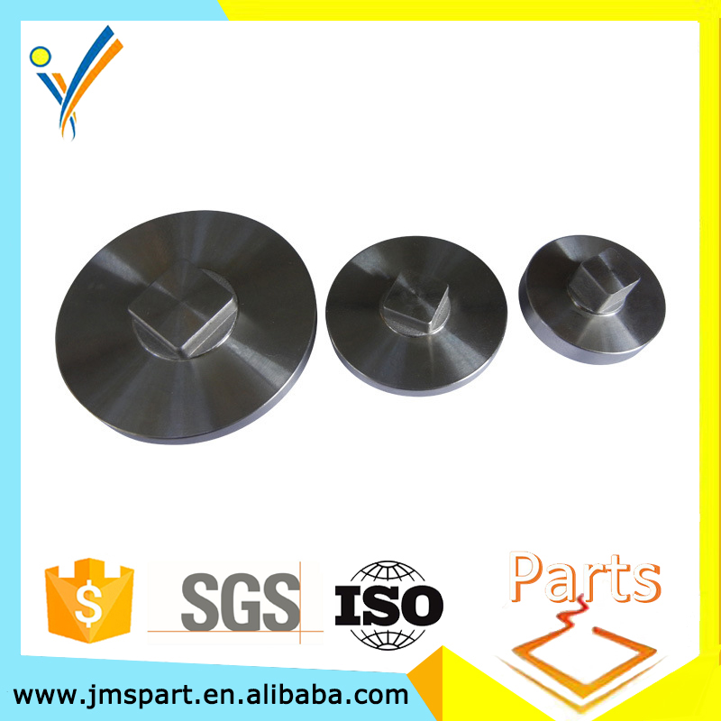 cnc machine cjs-003 processed chrome components precision steel milling cnc machining car parts