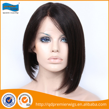 Worldwide wholesale cheap 180% density human hair full lace wig packed in PVC plastic bags