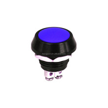 2A 36V DC Waterproof Push button momentary switch IP65 Class optional button color