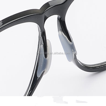Glasses accessories rubber nose pads for plastic frames