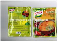 Chicken flavor instant soup instant food