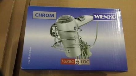 2015 Wenko Bathroom Accessories Hair Dryer