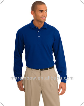 Exclusive unique knit moisture wicks cool and comfortable soft Breathable pique golf polo