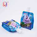 Innovative Products Child Proof Drinks Packing Side Gusset Cream Ice Pouch With Spout