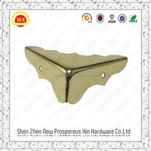 Wholesale angle protector Jewelry decorative metal corner fasteners