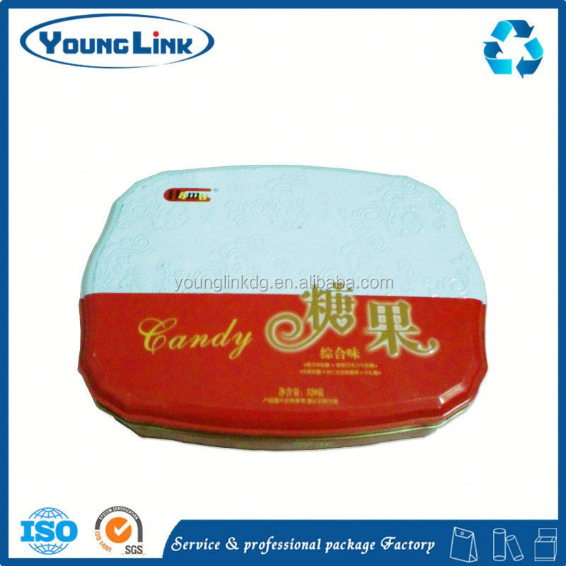 mirror sliding tin box/cans/case/for mints