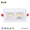 Bridgelux COB Ra 80 Lifud driver 28w square rectangular led downlight with 3 years warranty