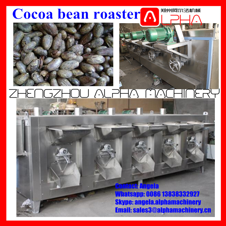 peanut coating machine/cocoa bean processing machinery /peanut roaster