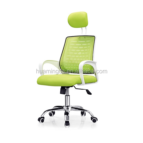 2015 mesh office chair with solid plastic arm