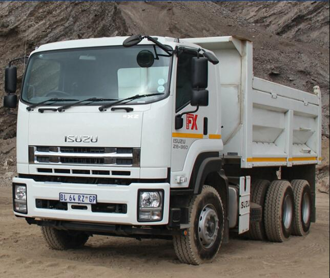 welcomed ISUZU D-Long dump truck