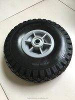 10 inch 4.10/3.50-4 plastic rubber wheel for toy car hand truck