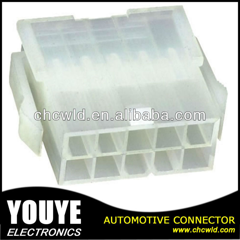 Automotive PCB connector/ auto plastic electrical connector 4.2mm pitch