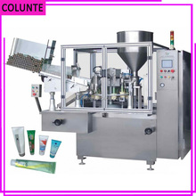 Henan Colunte Best Price Aluminum Tube Filling & Sealing Machine, toothpaste tube filling machine