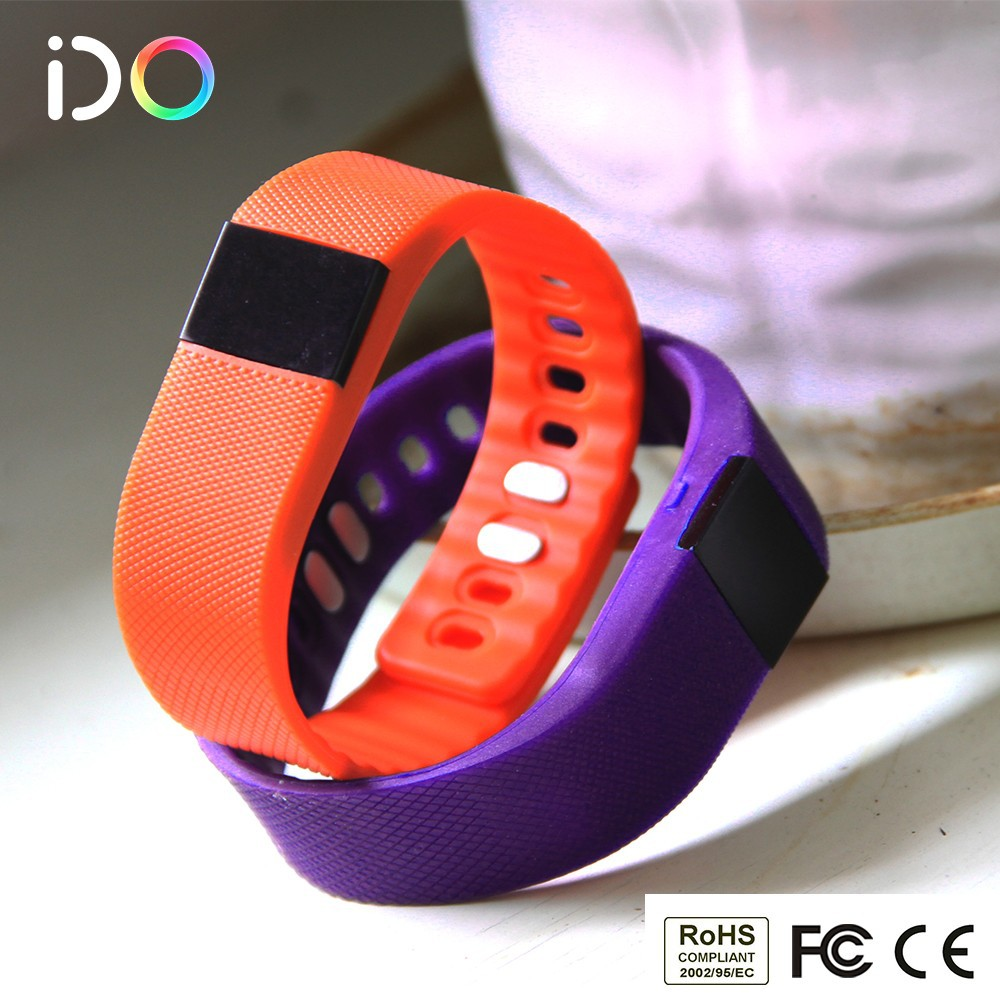 Step Calorie Pedometer IOS Android OLED Digital Sleep monitor Fit Bit Force Bluetooth waterproof wristband pedometer