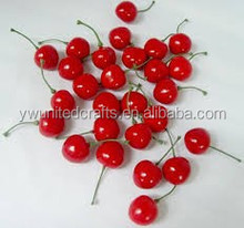 lifelike fake cherry artificial fruit faux food cherry