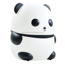 Top seller lovly panda shape night light for baby room