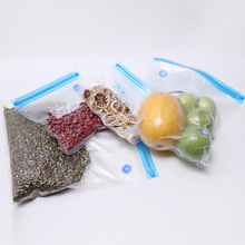 customized high quality resealable vacuum food bags