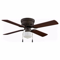 Vintage UL wooden color modern ceiling fan remote control with light