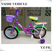 16 inch fashion hello kitty bicycle with plastic basket for kids/Pingxiang bike
