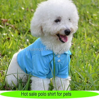 Best selling design your own brand clothing blank pet dog Dog clothes design your own