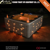 Outdoor hot tub 5 person pool spa sex massage for sale