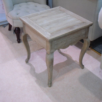 American country style painted wooden coffee tables 50X50