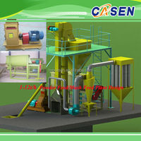 pellet/mash feed making machine poultry feed pellet making machine