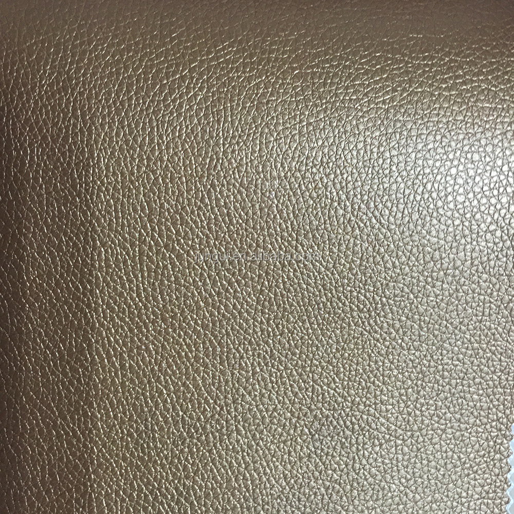 0.6mm~2.0mm PU litchi <strong>leather</strong> for Sofa, car seat, chairs use