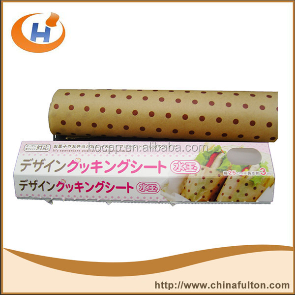 China factory wax paper rolls meat