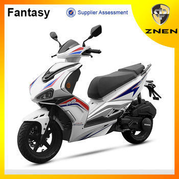 125CC fuel injection gas scooter with EEC certifiate