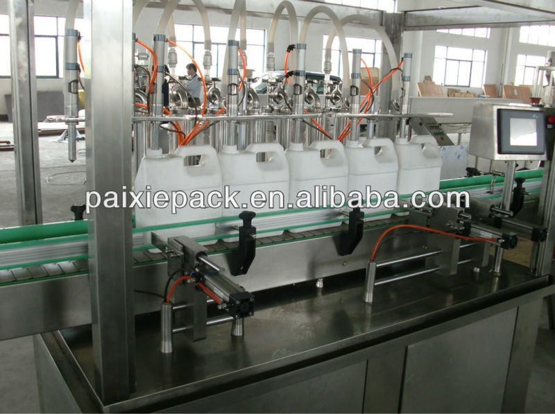 automatic machinery packing car oil