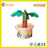 Hot sale palm tree pvc inflatable ice bucket
