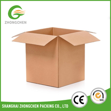 Wholesale double wall cardboard corrugated moving boxes with custom printing for logistics shipping
