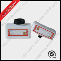 Domino white solvent ink for Domino coding machine
