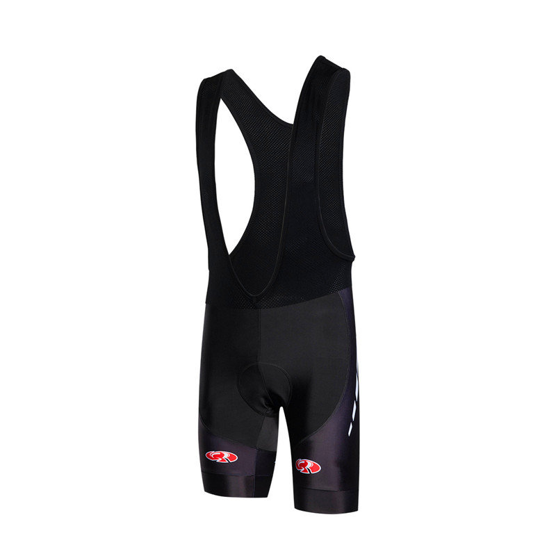 Black Custom Cycling Clothing Bicycle Cycling Bib Shorts