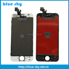 AAA grade !!! Mobile phone lcd For Apple for iPhone 5 LCD Display Touch Screen With Digitizer Assembly