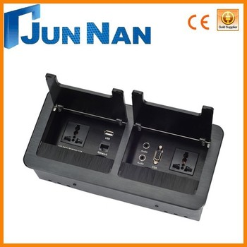 desktop socket / desktop socket in conference / ce outlet socket