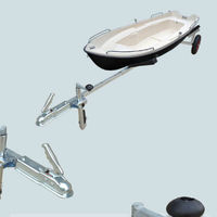 Outdoor long CE certificated boat trailer