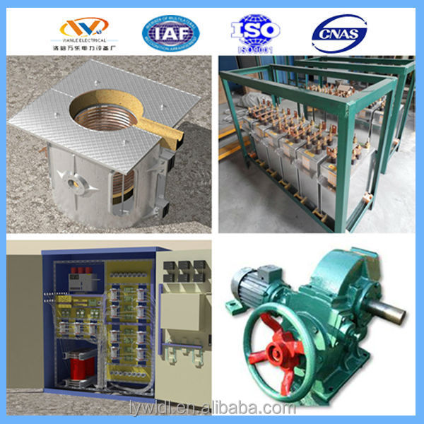 inductotherm copper melting furnace