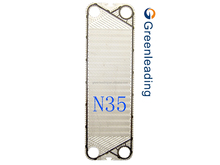Equal with APV H17 N35 GEA heat exchanger gaskets and plates