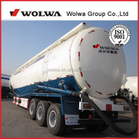 Powder Transport Semi Trailer Bulk Cement