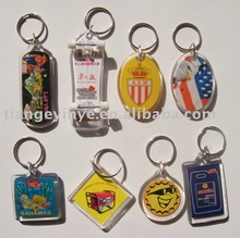 Car Acrylic Key Chain