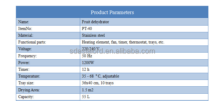 220V Industrial Dehydrator Machine 10 Layers Food Dryer