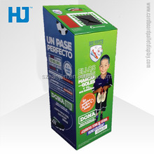 Recyclable cardboard container with EVA for charity used, custom design paper shoe recycle bin