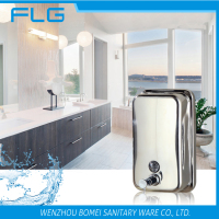 High Capacity Wall Mounted Stainless Steel Towel Soap Dispenser 1000ML BM1618