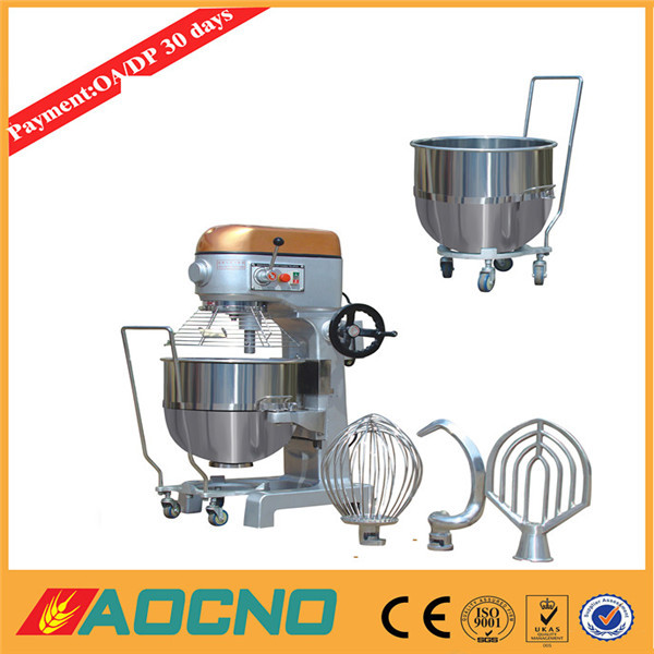 multifunction large capacity electric Planetary mixer, planetary food mixer cake mixer