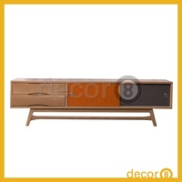Modern Wooden furniture Retro Solid Oak TV Cabinet and Sideboard