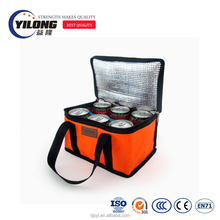 Promotional thermal cooler insulated waterproof lunch bag for frozen food